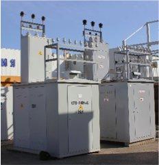 Комплектные трансформаторные подстанции в металлическом и сэндвичном исполнении КТП ИНВЭЛ