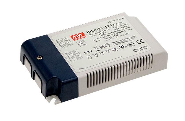 Немерцающий источники стабилизированного тока IDLC-65DA