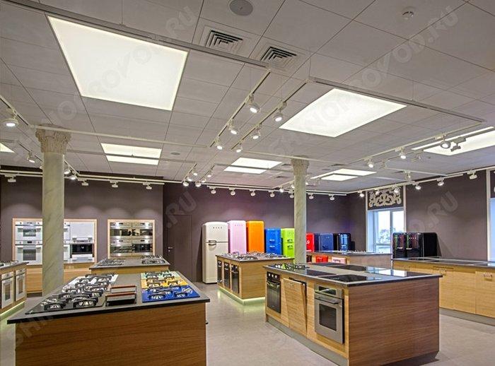 осветительные системы шинопроводов в торговом зале
