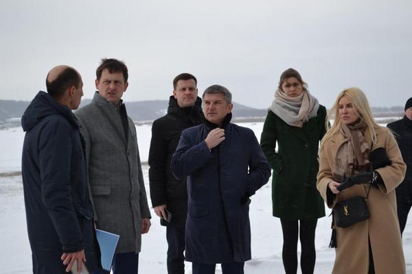 Игорь Маковский во время рабочей встречи в Нижнем Новгороде
