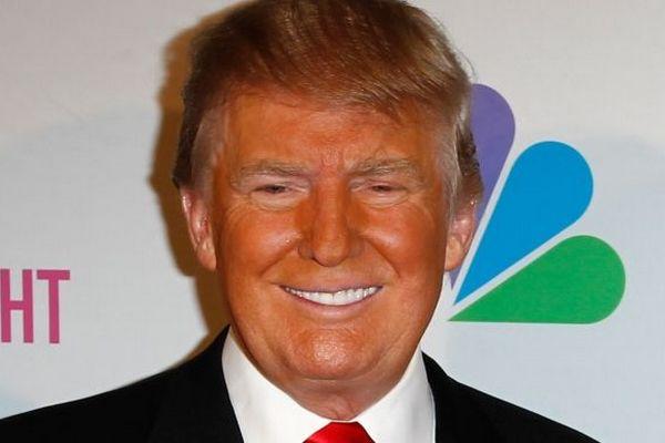 Неудачный мейк-ап американского президента