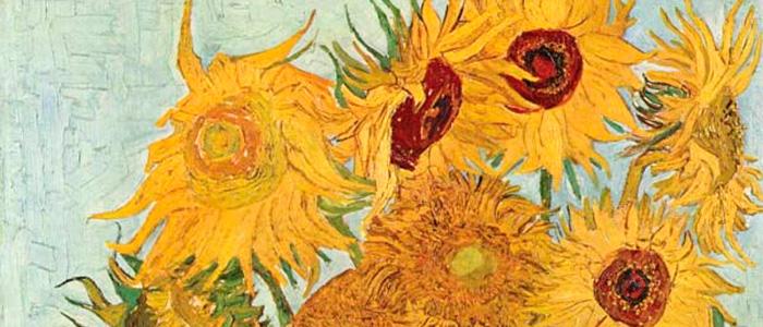 Винсент Ван Гог. Подсолнухи. 1988 г.