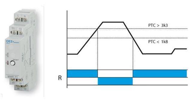 Реле MMR-T1 предназначено