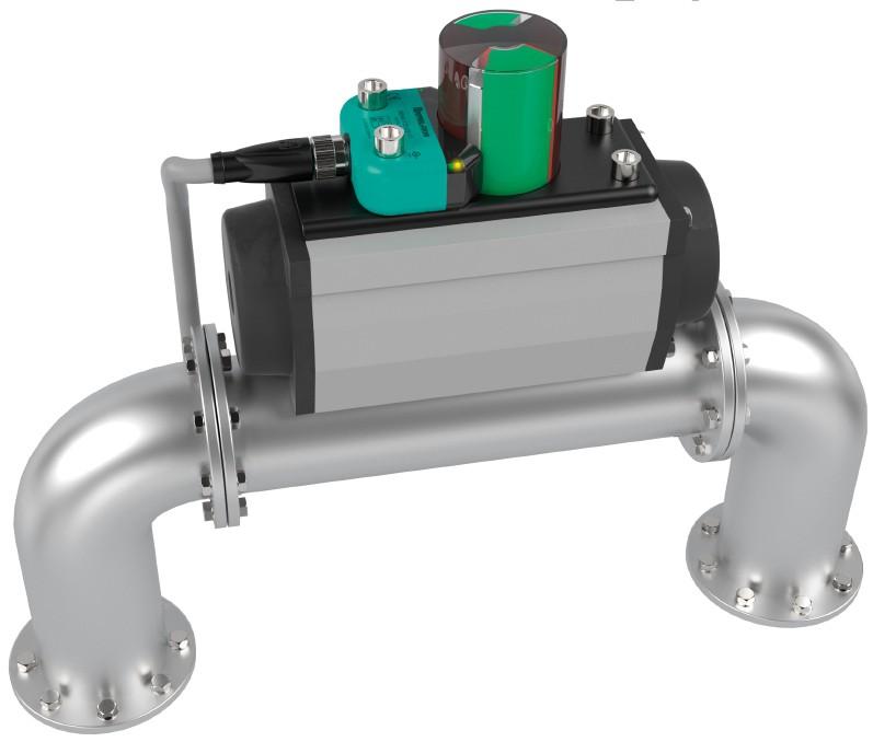 Индуктивный датчик положения клапана Pepperl+Fuchs