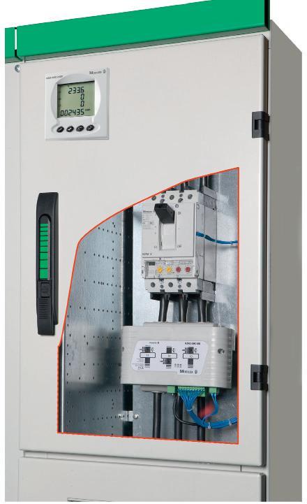 Использование модуля XMC в распределительном шкафу