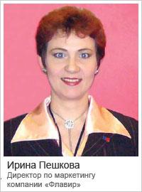 Ирина Пешкова — Директор по маркетингу компании «Флавир»