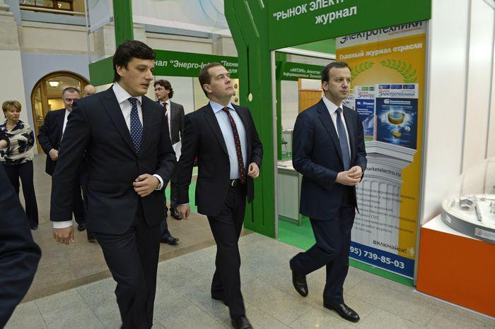 Дмитрий Медведев посетил выставку