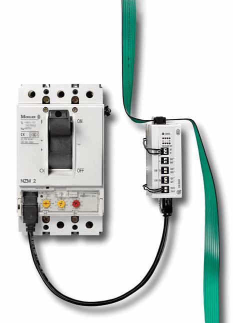 Модуль коммуникации NZM с системой SmartWire-DT