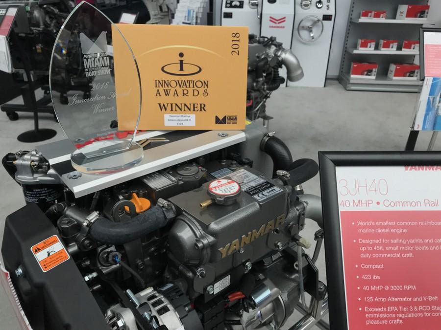 Судовой двигатель YANMAR 3JH40
