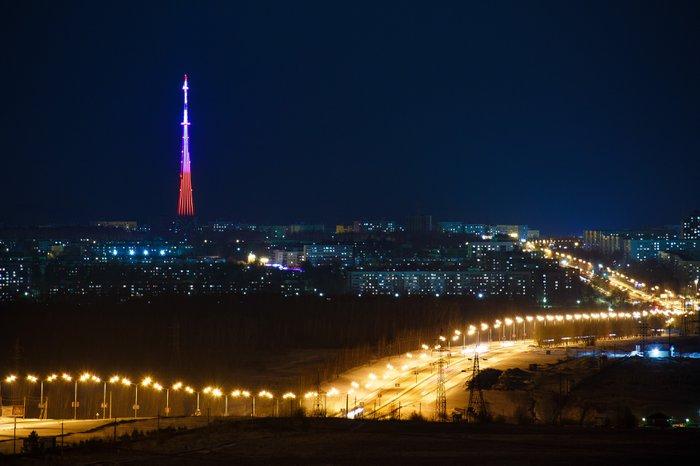Городская телевизионная башня Нижнекамска