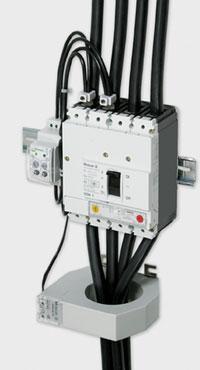Схема дифференциальной защиты с использованием реле PFR