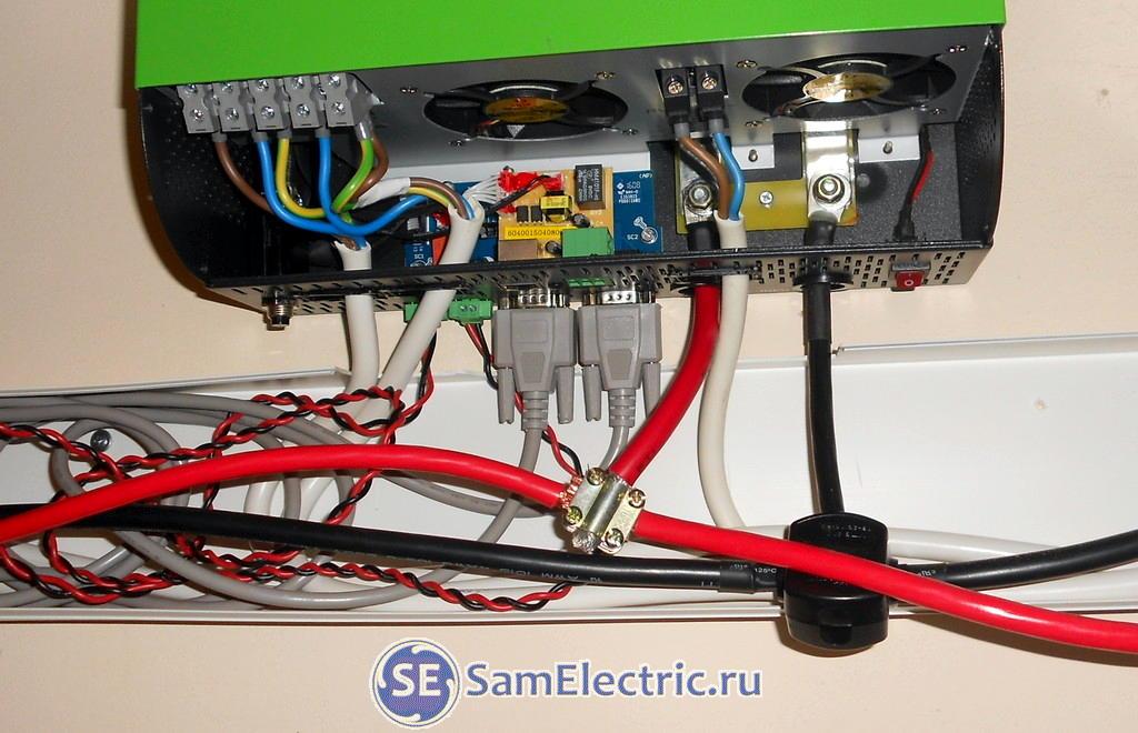 Трехфазная энергосистема для дома. Подключение инвертора
