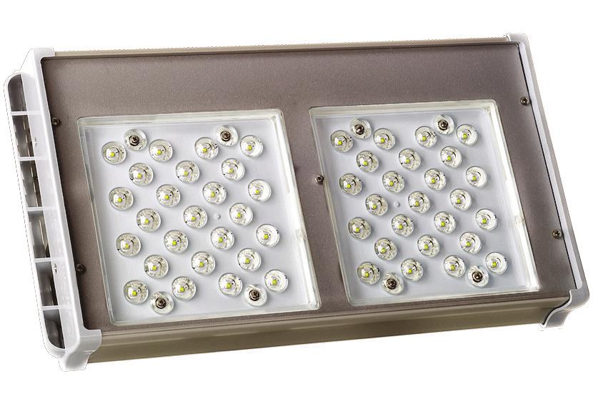 Фото - уличные двухмодульные светильники АtomSvet® Plant