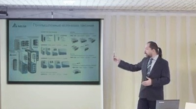ПЧ и сервопривод Delta Electronics