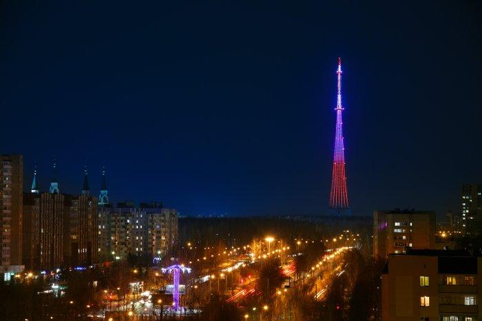 В России появилась самая яркая и энергоэффективная телебашня