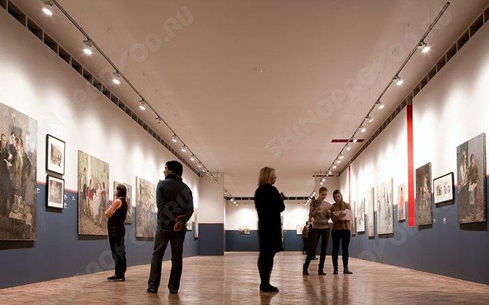 осветительные системы в музеи