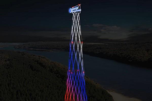 Эскиз реконструированной Шуховской башни
