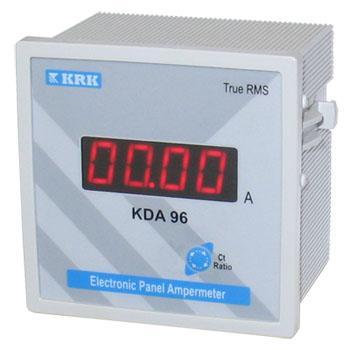 Амперметр цифровой KDA 96, 0-9999А переменного тока