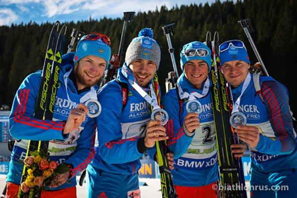 Украинские биатлонистки завоевали «бронзу» вэстафете наэтапе Кубка мира