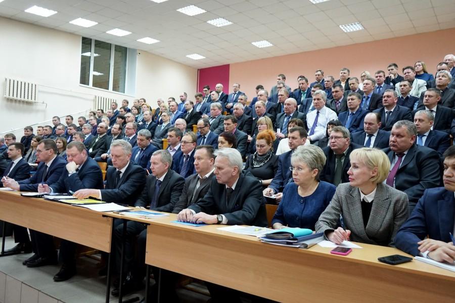 Совещание с коллективом и руководством Кировэнерго