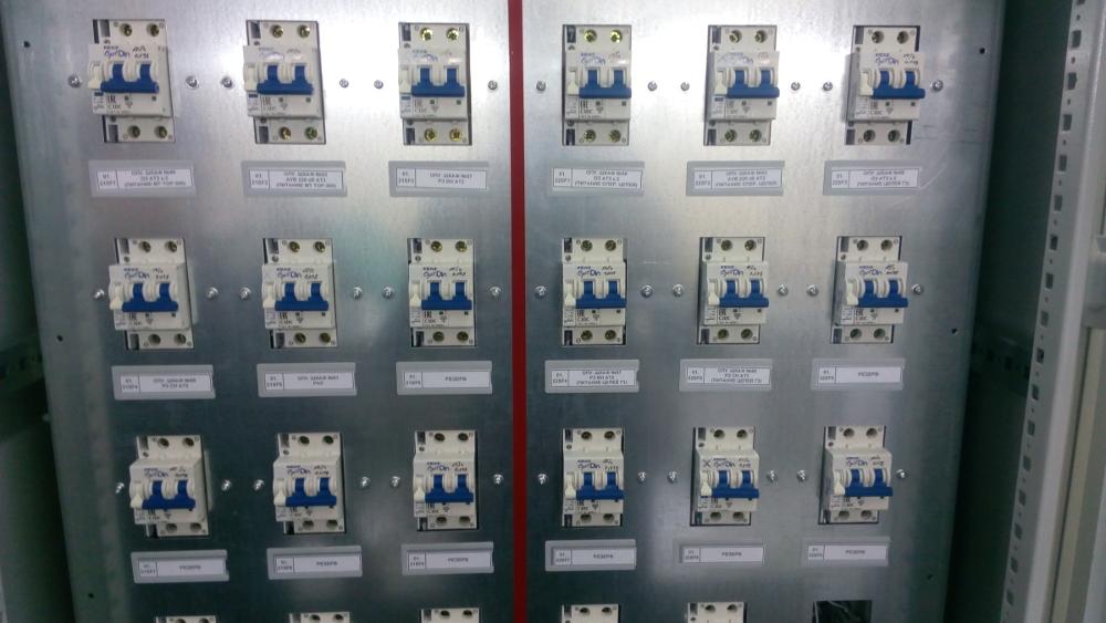 Шкаф распределения постоянного оперативного тока