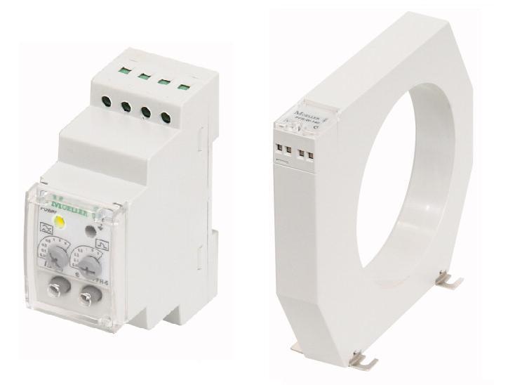 Реле контроля токов утечки и тороидальный трансформатор серии PFR