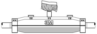 Монтаж соединения контрольного кабеля