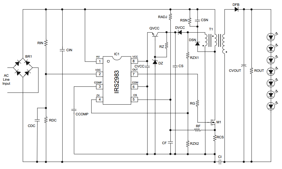 Схема применения: Контроллер