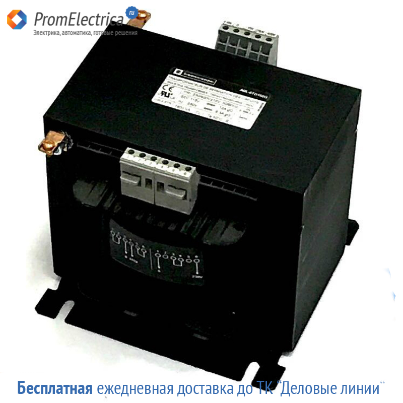 ABL6TD160G трансформатор 230-400 2X115V 1,6KVA Schneider Electric