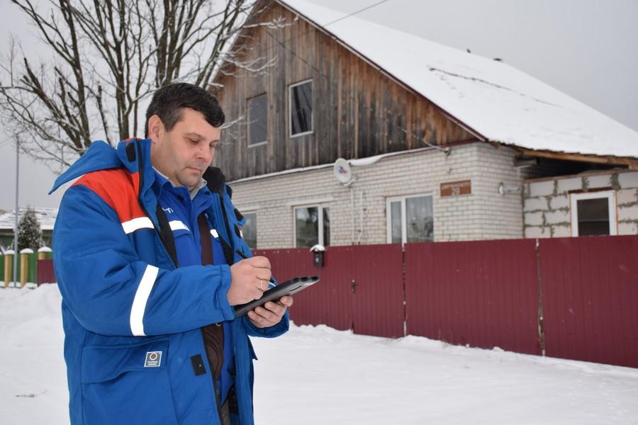 Внося показания, работник «Владимирэнерго» также видит предыдущие показания электросчетчика