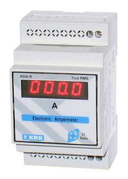 Амперметр цифр. KDA-R (DIN), 0-9999А, пит. 220 VAC