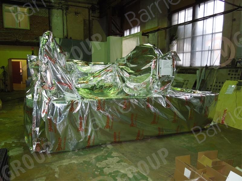 Станки с ЧПУ защитит алюминиевая пленка