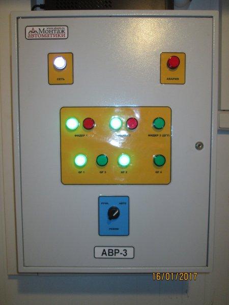 щит автоматического ввода резерва (АВР)