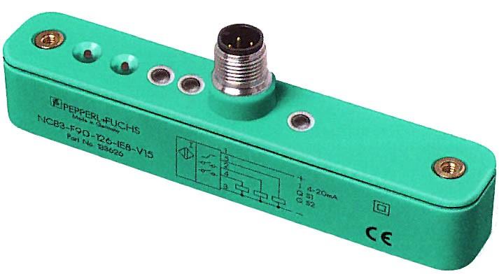 Индуктивные аналоговые датчики Pepperl+Fuchs