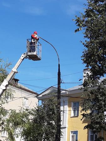 Нижновэнерго модернизирует уличное освещение Арзамаса»
