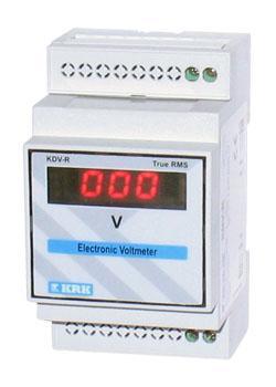 Вольтметр цифровой KDV-R, 0-500V перем. тока