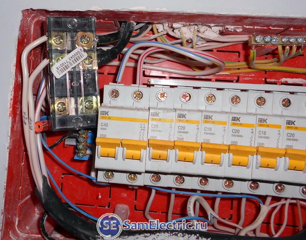Переделка домашнего электрощитка для подключения солнечного инвертора