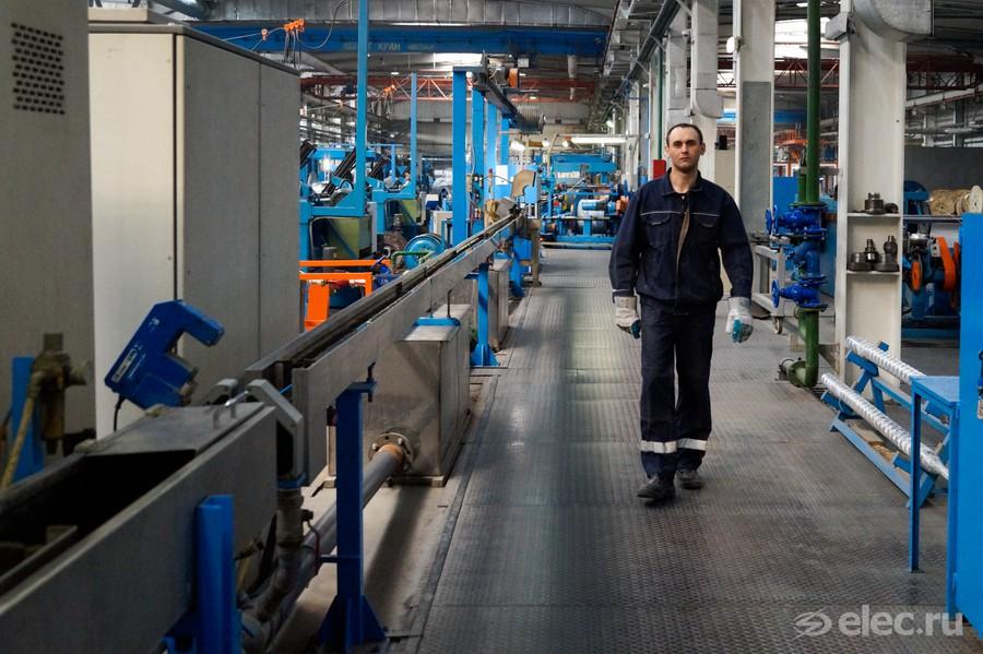 Экструзионная линия на заводе Алюр