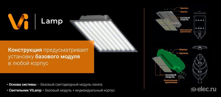 Светильники ViLamp