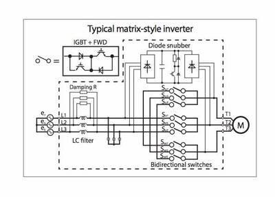 Схема матричного ЧРП