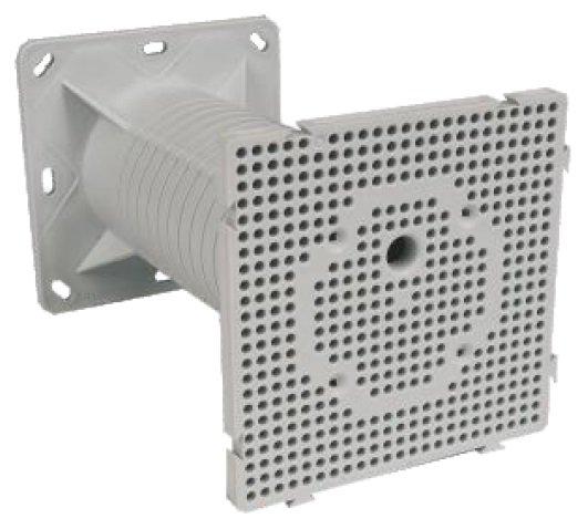 Электромонтажная коробка Legrand Batibox для перегородок 4 поста глубина 50мм 80054