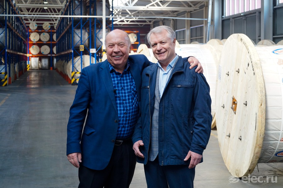 Геннадий Мещанов и Алексей Бобров